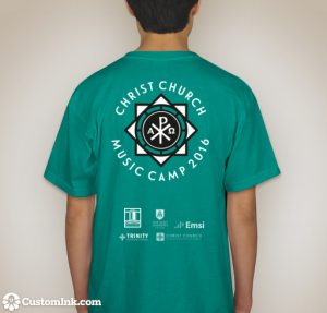 music camp 2016 tshirt back