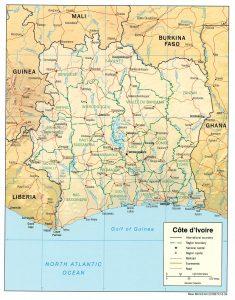 bakwe map